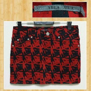 アウラアイラ(AULA AILA)の購入20000円 AULA AILA アウラアイラ ミニスカート 超美品 1(ミニスカート)