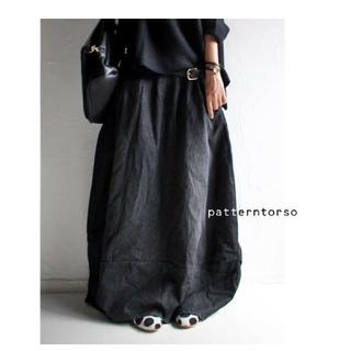 アンティカ(antiqua)の2日まで❤☆H☆様専用❤antiqua2点バルーンスカート&デニムコート(ロングスカート)