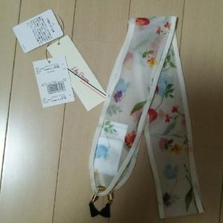 リリーブラウン(Lily Brown)の最終お値下げさま専用スカーフネックレス♪リリーブラウン 2色セット(バンダナ/スカーフ)