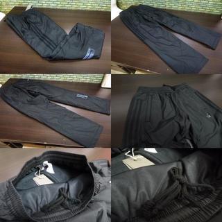 アディダス(adidas)のS 黒)アディダス ウィンドブレーカーパンツ DUQ94 中綿入りロングパンツ(ウインタースポーツ)