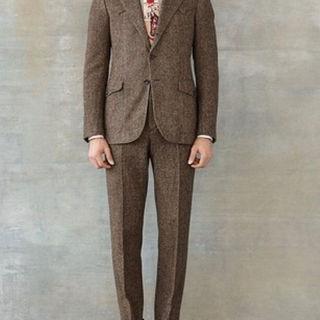 ラルフローレン(Ralph Lauren)のrrl tweed set up ツイード セットアップ スーツ 36r 30(セットアップ)