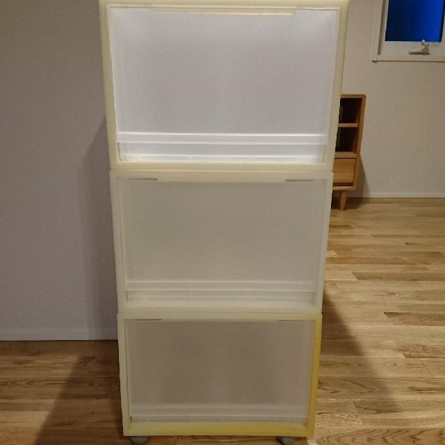 MUJI (無印良品)(ムジルシリョウヒン)の無印良品 収納ケース インテリア/住まい/日用品の収納家具(ケース/ボックス)の商品写真
