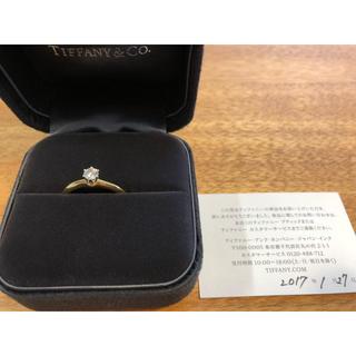 ティファニー(Tiffany & Co.)のTIFFANY  ティファニーセッティング  イエローゴールド(リング(指輪))