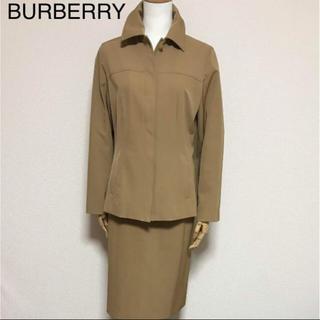 バーバリー(BURBERRY)の正規品 バーバリー ジャケット&スカート キャメル(スーツ)