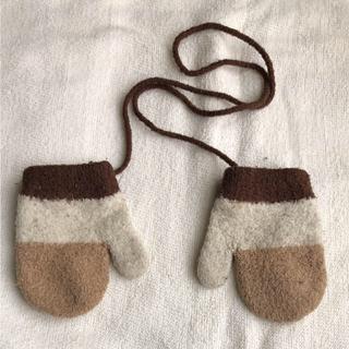 ムジルシリョウヒン(MUJI (無印良品))の無印良品 のびのびミトン(手袋)