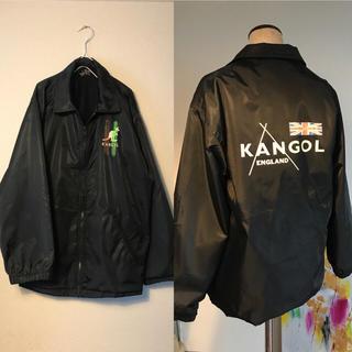 サンタモニカ(Santa Monica)の90s used 古着 KANGOL コーチジャケット(ナイロンジャケット)