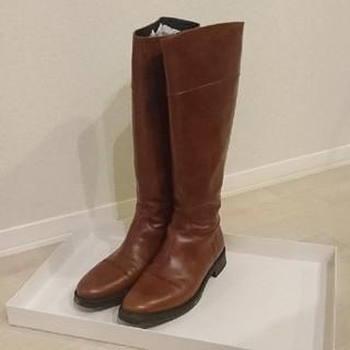 ジャンルカピサティ(GIANLUCA PISATI︎)の箱付gianluca pisatti ロングブーツ サイズ40(25.0センチ)(ブーツ)