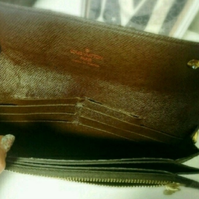 dee6816a8b63 LOUIS VUITTON(ルイヴィトン)のヴィトン ダミエ ポルトフォイユ アコルディオン メンズのファッション小物