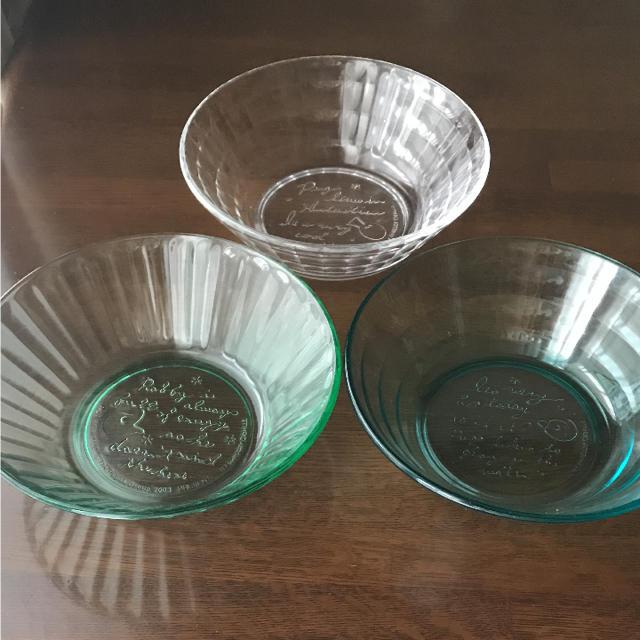 ピングー ガラス器3個セットの通販 by navi's shop|ラクマ