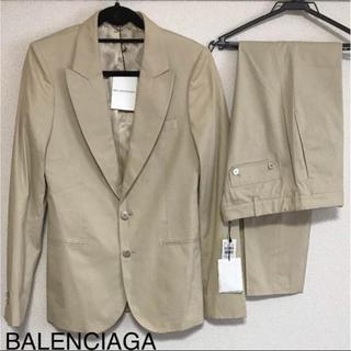 バレンシアガ(Balenciaga)の正規品 バレンシアガ【未使用】メンズ スーツ ライトベージュ(セットアップ)