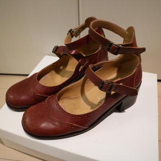 ジェーンマープル(JaneMarple)のジェーンマープル クラウンアイレットのストラップシューズ 靴(ローファー/革靴)