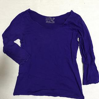 サリー(SALLY)のレディース 長袖 カットソー  Tシャツ Lサイズ  (カットソー(長袖/七分))