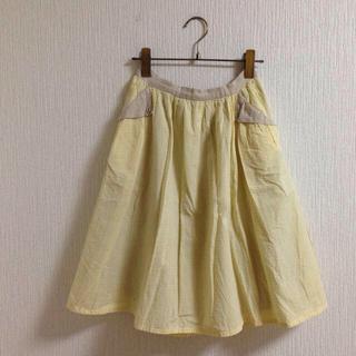 アトリエドゥサボン(l'atelier du savon)のfig london さんかくポッケSK(ひざ丈スカート)