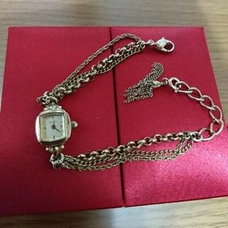 アガット(agete)のアガットブレスレット風 時計 アンティーク(腕時計)