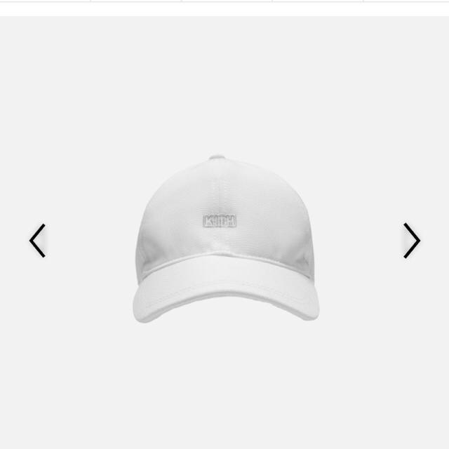 Supreme(シュプリーム)のKITH Silver Classic Logo Cap White 納品書新品 メンズの 9392191bdcd6
