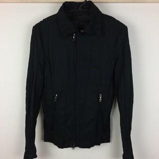 ゴーサンゴーイチプールオム(5351 POUR LES HOMMES)の美品 5351プールオム ジャケット ブルゾン ブラック サイズ1(ブルゾン)