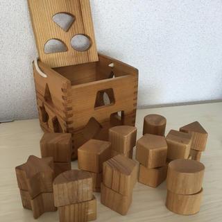 ボーネルンド(BorneLund)のラトビア製 木製 積み木(積み木/ブロック)
