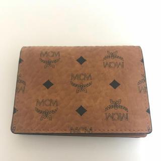 エムシーエム(MCM)のMCM 最新レザーカードケース(名刺入れ/定期入れ)