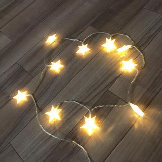 スリーコインズ(3COINS)のイルミネーション 星 ライト 乾電池式 3coins(その他)