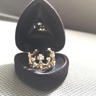 レストローズ(L'EST ROSE)のレストローズ  ノベルティ王冠リング (リング(指輪))
