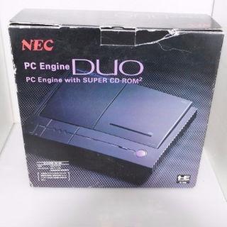 エヌイーシー(NEC)の中古PCE PCエンジンDUO本体 + アベニューパッド6★超レア★ジャンク(家庭用ゲーム機本体)