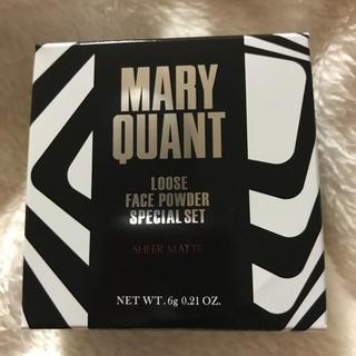 マリークワント(MARY QUANT)のマリークワント マリクワ ルース フェイス パウダー (フェイスパウダー)