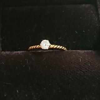 ドゥーズィエムクラス(DEUXIEME CLASSE)のDeuxieme Classeドゥーズィエムクラス一粒ダイヤモンドリング定価5万(リング(指輪))