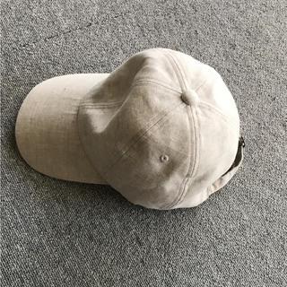 ムジルシリョウヒン(MUJI (無印良品))の無印良品 麻 キャップ(キャップ)