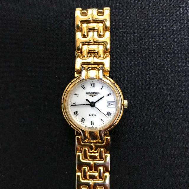 LONGINES - 🔴 LONGINES .ロンジン 🔴 カレンダー付き、レディース、腕時計の通販