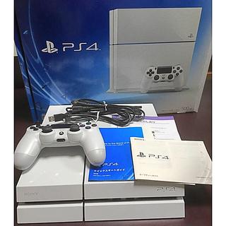 プレイステーション4(PlayStation4)のPS4 本体+純正スタンド付き(家庭用ゲーム機本体)