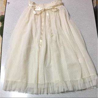シークレットマジック(Secret Magic)の♪シークレットマジック チュールスカート(ひざ丈スカート)