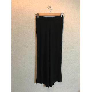 フレイアイディー(FRAY I.D)のフレイI.D. ウールカシミヤニット スカート black(ロングスカート)