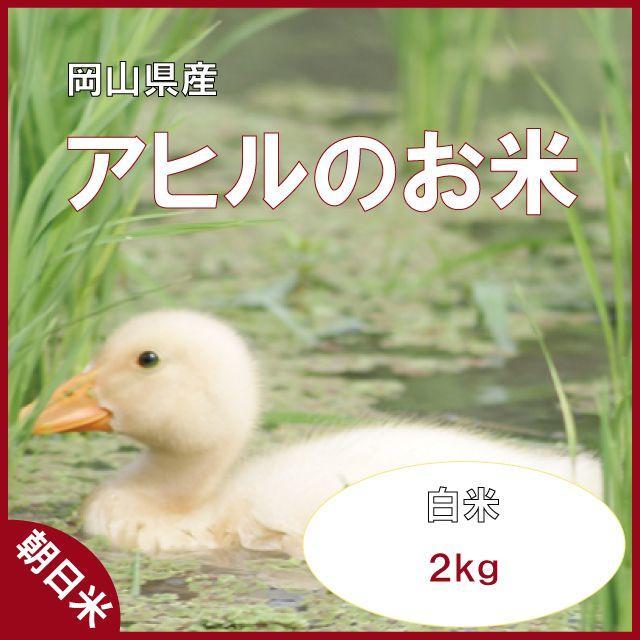岡山県備前市産「アヒルのお米」平成29年度産2kg(白米) 食品/飲料/酒の食品(米/穀物)の商品写真