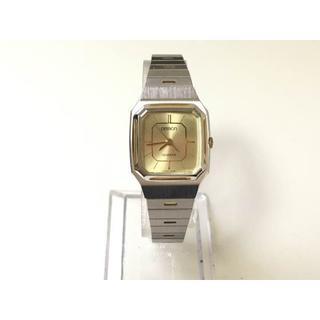 オムロン(OMRON)の【OMRON】1407 レディース クォーツ(腕時計)