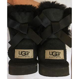 アグ(UGG)のUGG キッズ  黒  18.5(ブーツ)
