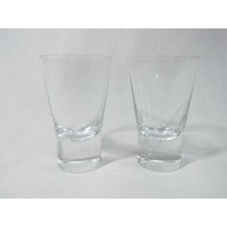 イッタラ(iittala)の美品 イッタラ iittala タンブラー グラス クリア 2個セット ペア(タンブラー)