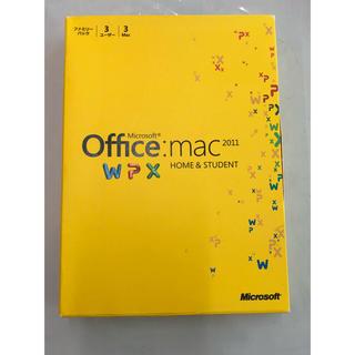 マック(MAC)のMicrosoft Office mac 2011 (PC周辺機器)