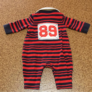 ベビーギャップ(babyGAP)のbabyGAP 長袖ロンパース 60cm(ロンパース)