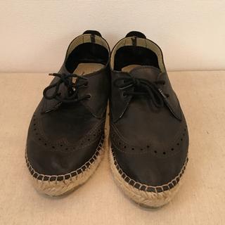 スピックアンドスパン(Spick and Span)のオックスフォードエスパドリーユ(ローファー/革靴)