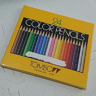 トンボエンピツ(トンボ鉛筆)の色鉛筆24色 トンボ(色鉛筆)