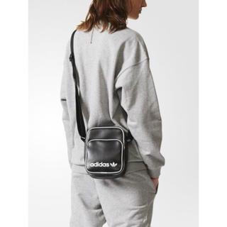 アディダス(adidas)の【新品】adidas オリジナルス ショルダー ミニバッグ ビンテージ ブラック(ショルダーバッグ)