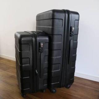 ムジルシリョウヒン(MUJI (無印良品))の無印良品 スーツケース キャリー 87リットル 黒(トラベルバッグ/スーツケース)
