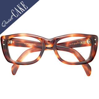 極上美品 60s USA ビンテージ LIBERTY ウェリントン 鼈甲柄543(サングラス/メガネ)