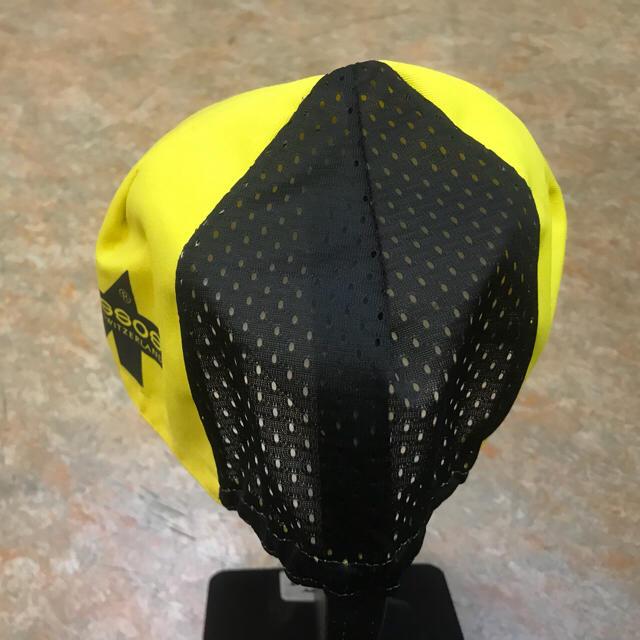 サイクリングキャップ アソスイエロー スポーツ/アウトドアの自転車(ウエア)の商品写真