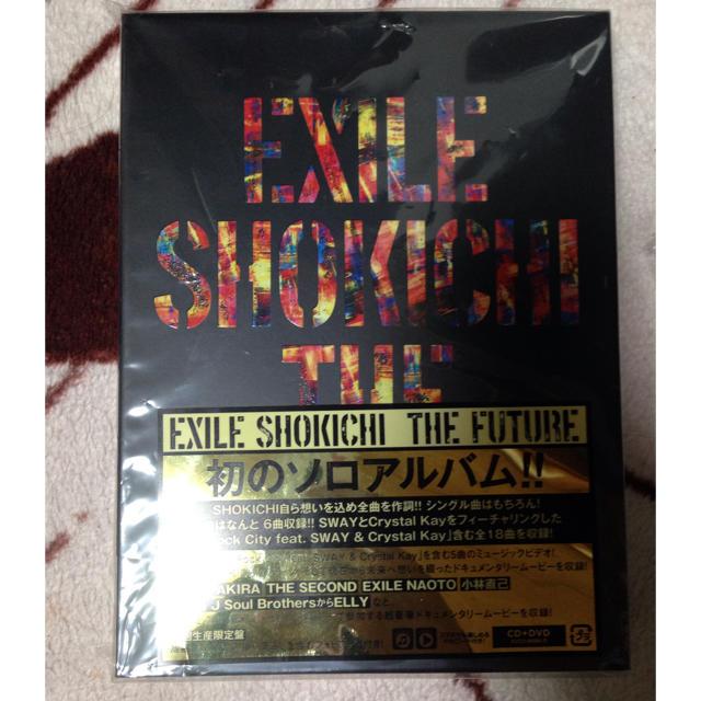 EXILE(エグザイル)のEXILE SHOKICHI 初ソロアルバム エンタメ/ホビーのCD(R&B/ソウル)の商品写真