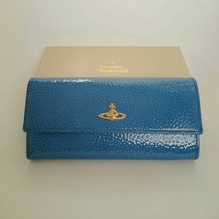 ヴィヴィアンウエストウッド(Vivienne Westwood)のレア色  ヴィヴィアン 財布  VIVIENNE  APOLLO ブルー(財布)