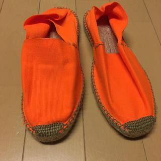 カンペール(CAMPER)のシューズ 蛍光オレンジ 38 サイズ(スニーカー)