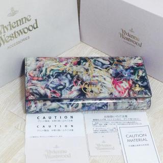 ヴィヴィアンウエストウッド(Vivienne Westwood)の値下げ 新品未使用 ヴィヴィアン 長財布 SIVA ピンク(財布)