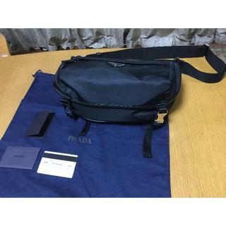プラダ(PRADA)のPRADA  プラダ  VA0994  NERO(黒) ボディーバッグ  新品(ボディーバッグ)