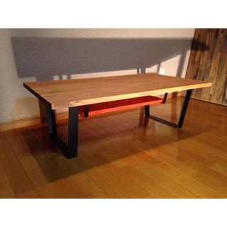 アイアン ローテーブル センターテーブル インダストリアル アイアン家具(ローテーブル)